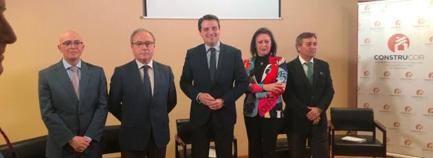 José María Bellido se reúne con el Consejo de Gobierno de Construcor
