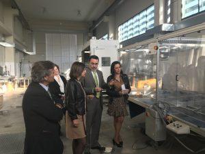 Visita previa a los laboratorios del CIAC