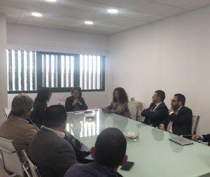 Reunión de trabajo del Consejo de Gobierno con la Alcaldesa